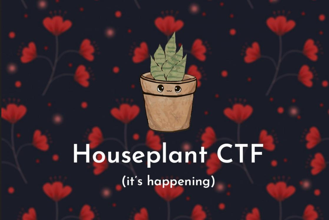 Houseplant CTF Beginners wp